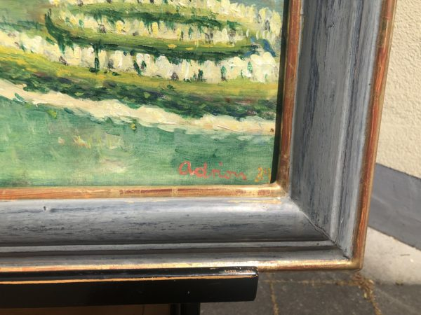 Gemälde Lucien Adrion detail